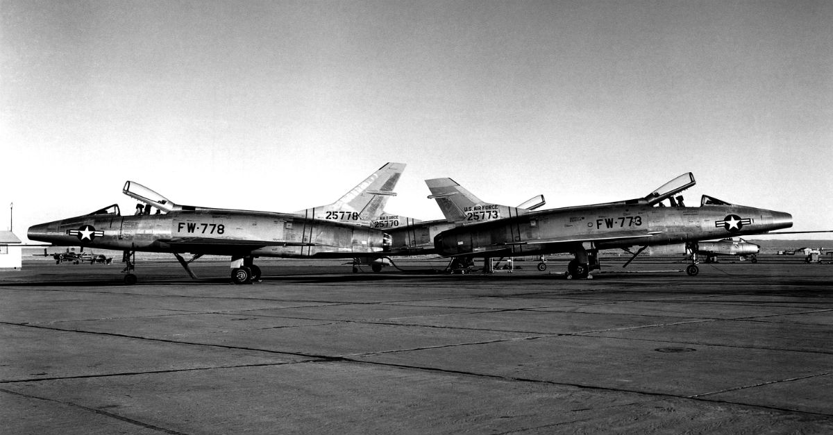 The F-100 Super Sabre Fighter-Bomber | Military Machine