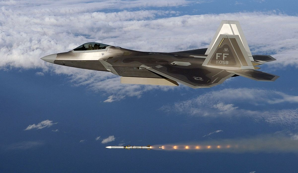 F-22 testing armament, F-22 facts