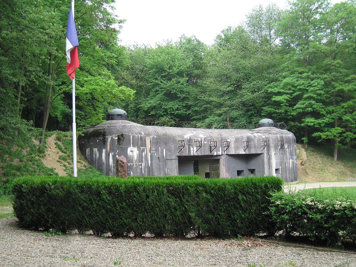Maginot Line Military Bases, abandoned military base