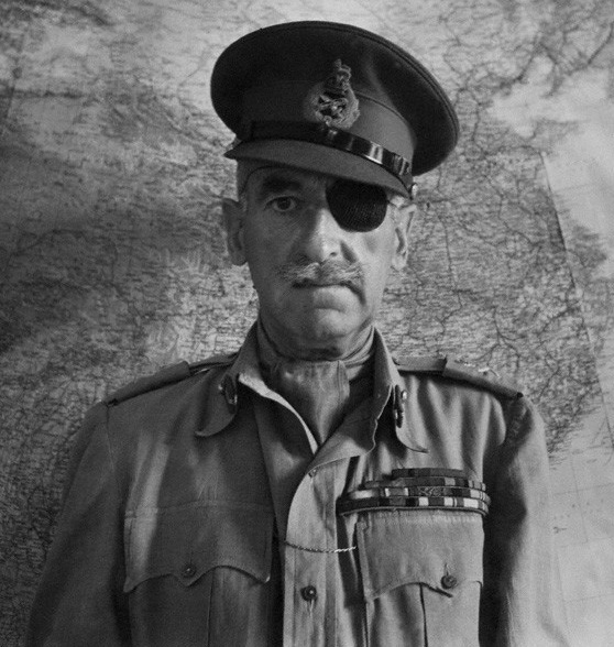 Sir Adrian Carton de Wiart by Cecil Beaton, WWII Facts