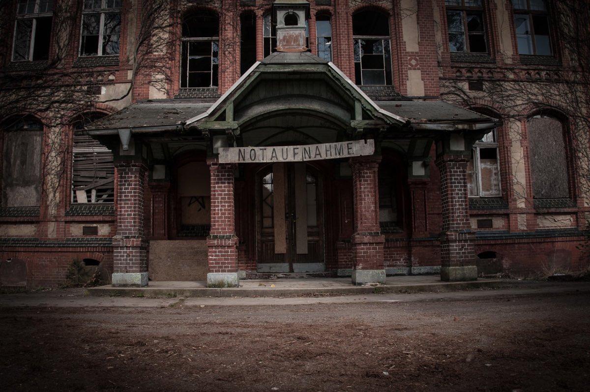 Beelitz-Heilstaaten, abandoned military base