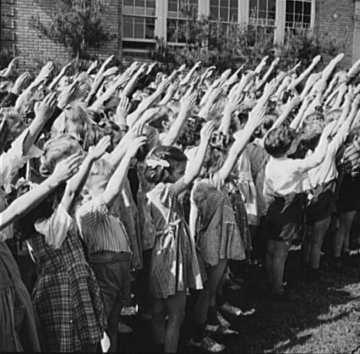 Bellamy Salute, WWII Facts