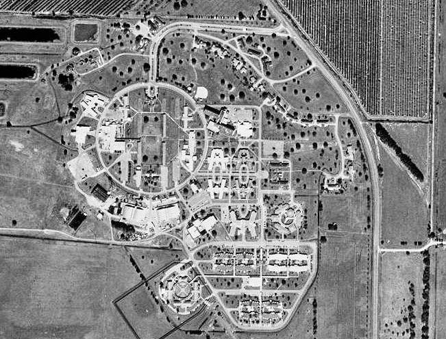 Carlstrom Field aerial view