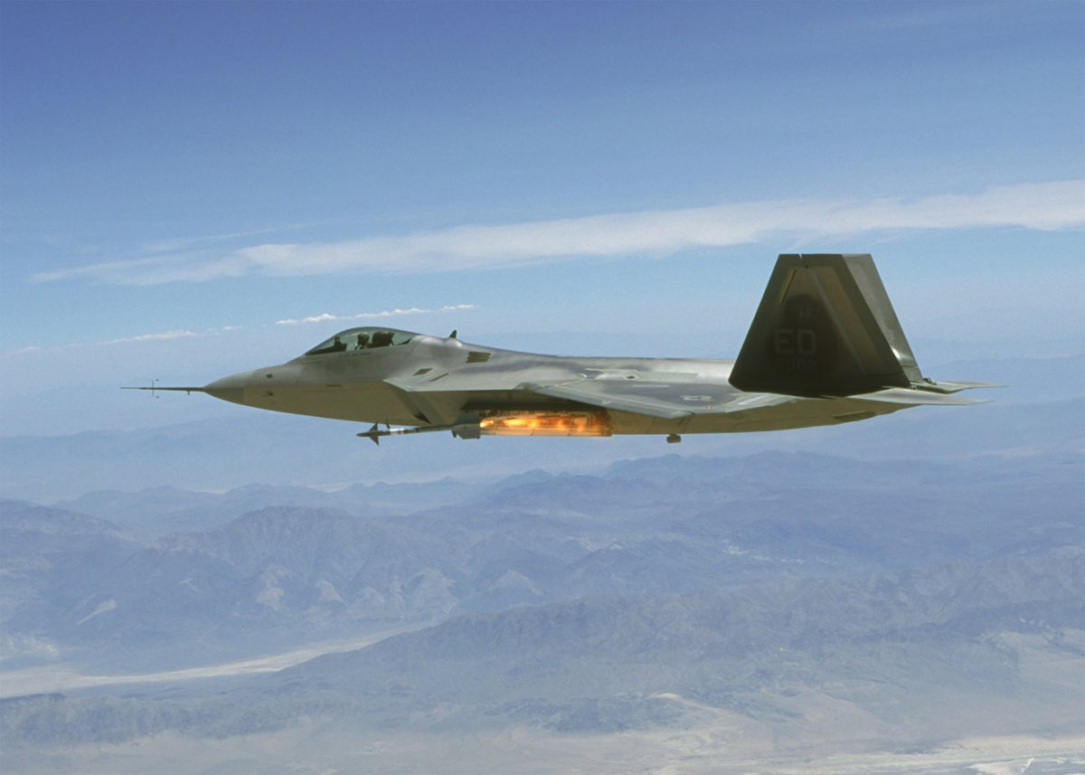 F-22 Raptor sidewinder missile, f-22 facts