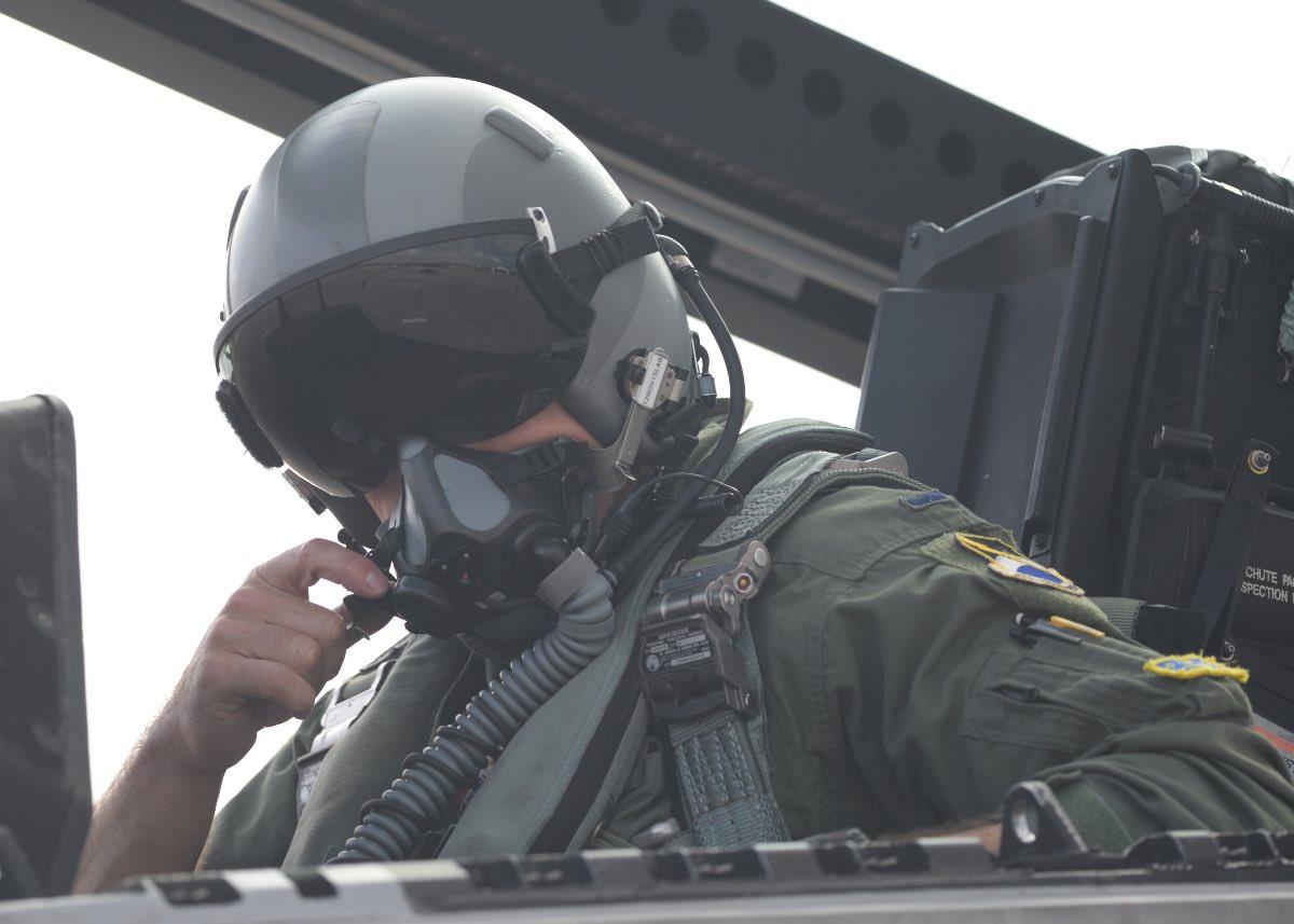 F-22 helmet
