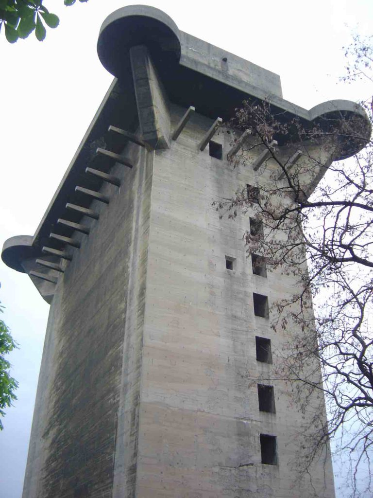 Flak Tower, abandoned military base