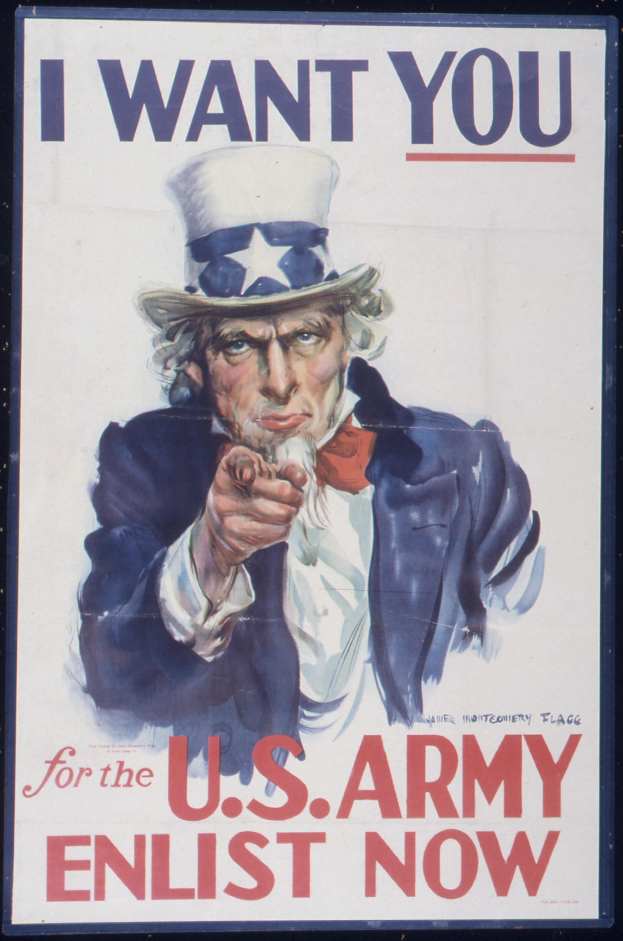 I WANT YOU, WWII Facts
