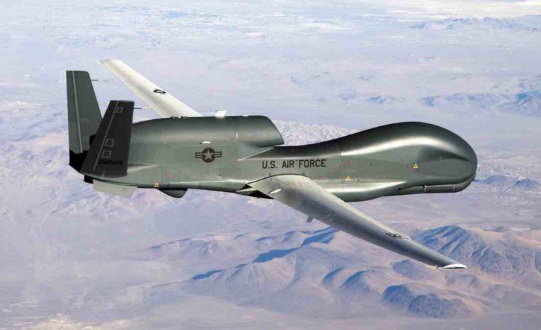 RQ-4 over the Carolinas