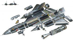 Sr-71 Blackbird Infographic
