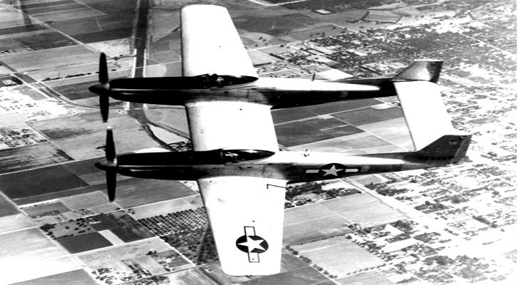 North American XF-82 Mustang