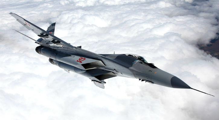 MiG 29 In Flight