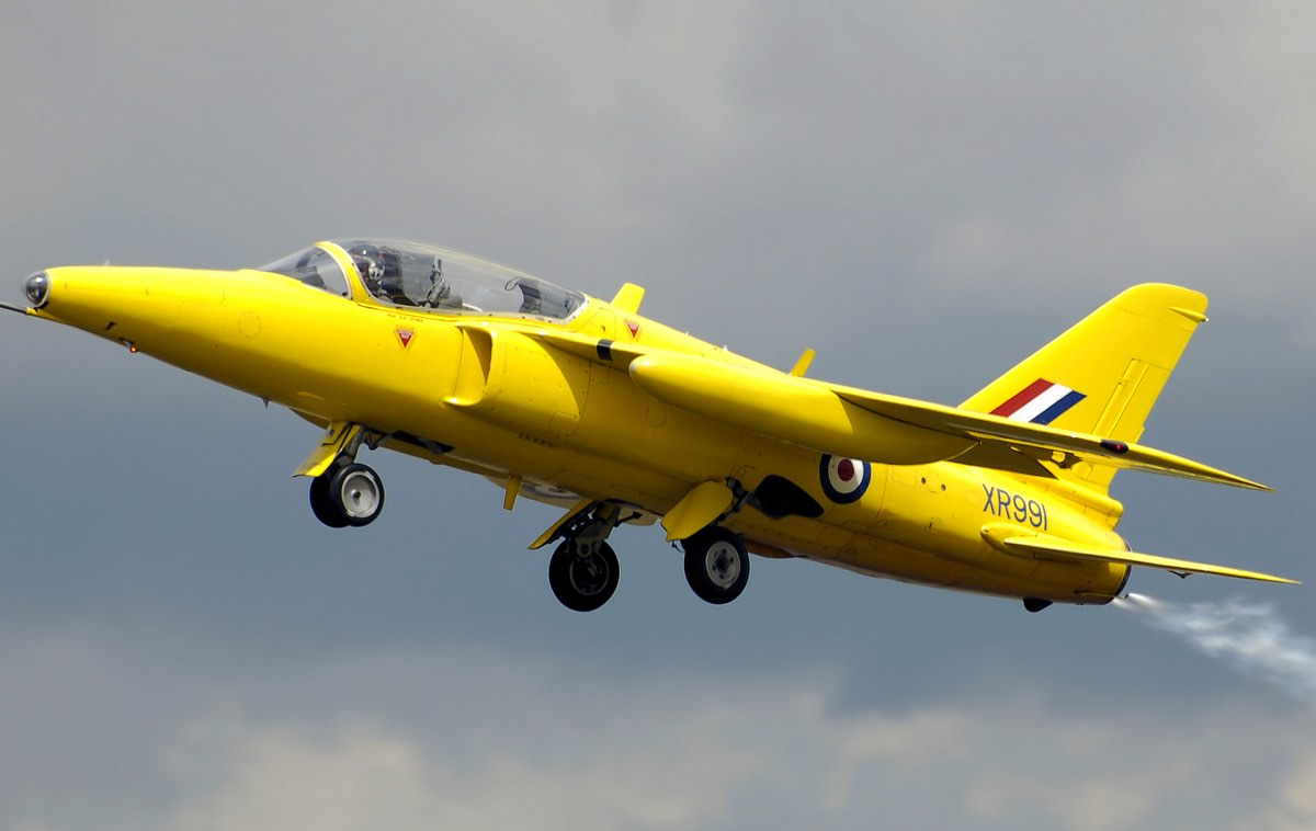 Folland Gnat side-view