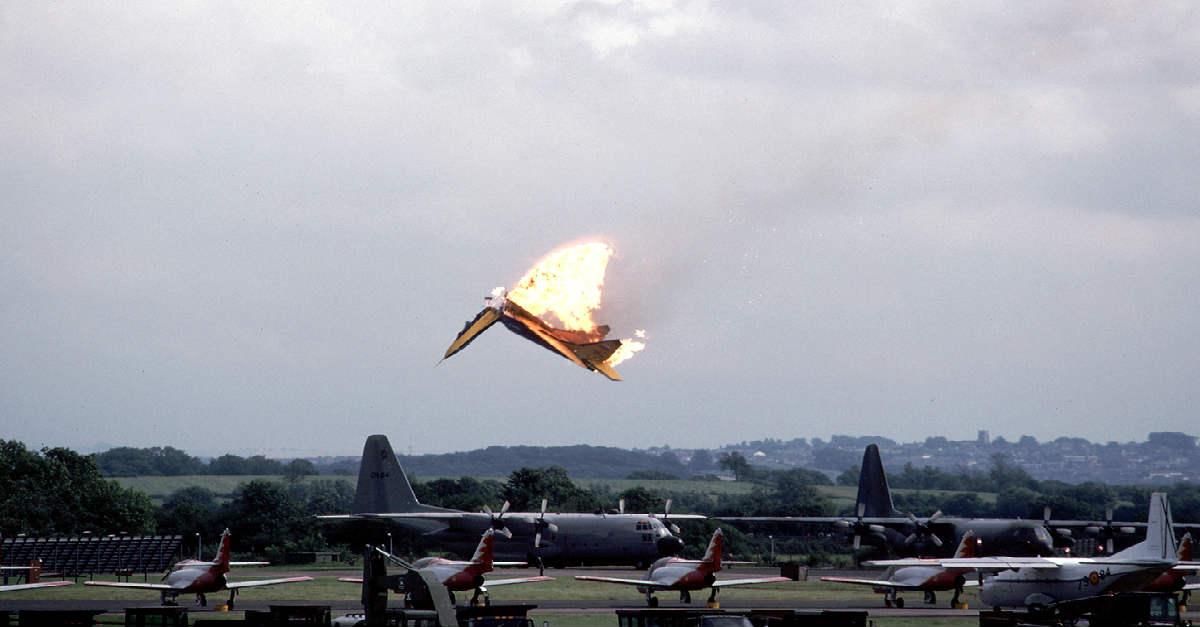 MiG 29 Air Show Collision