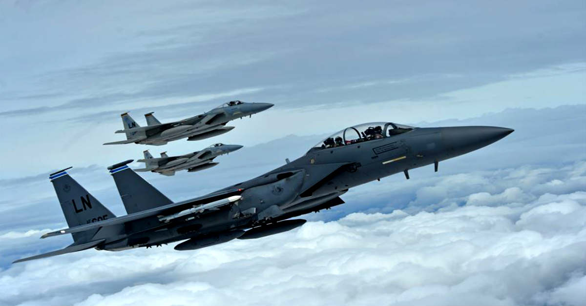 F-15 Strike Eagles