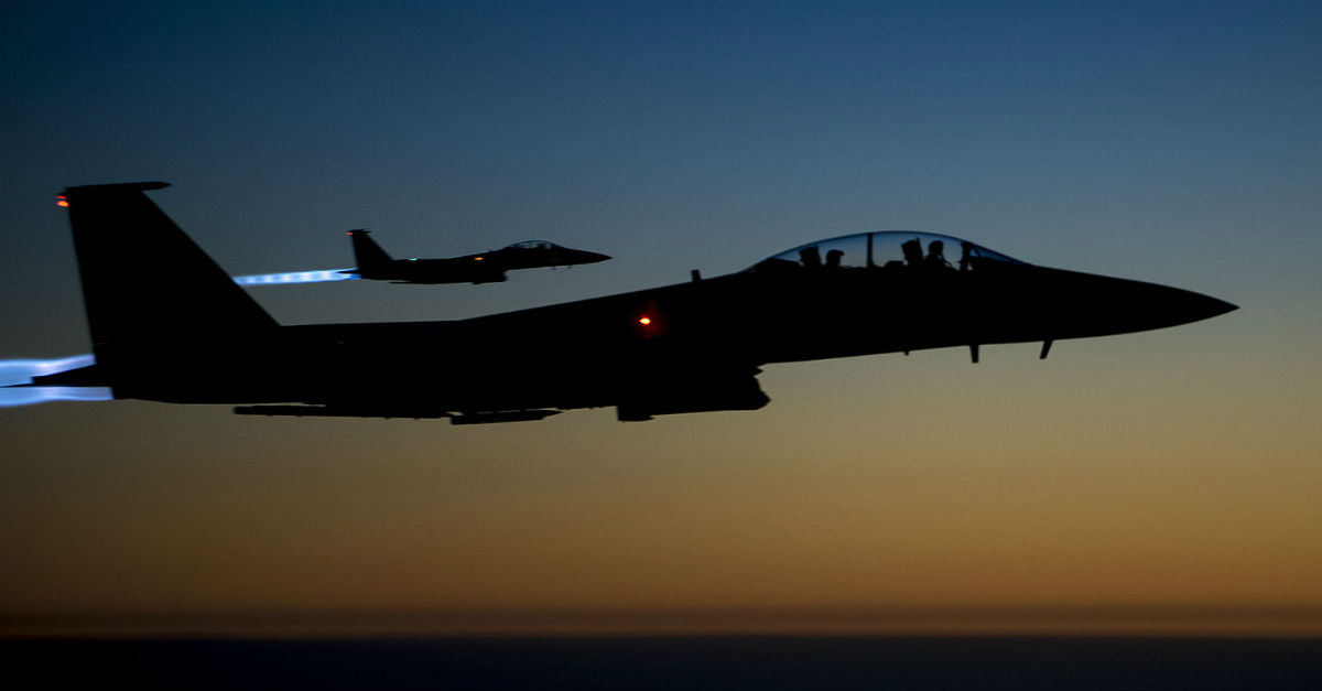 F-15 Night Mission
