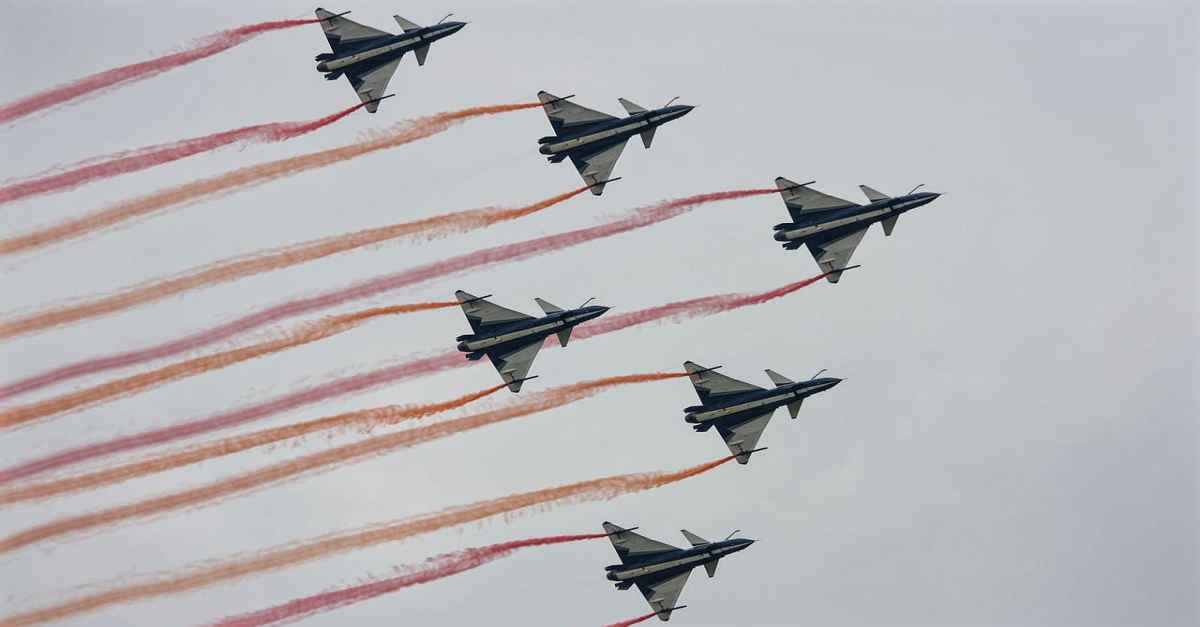Chengdu J-10 Formation