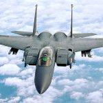 F-15 Eagle in flight