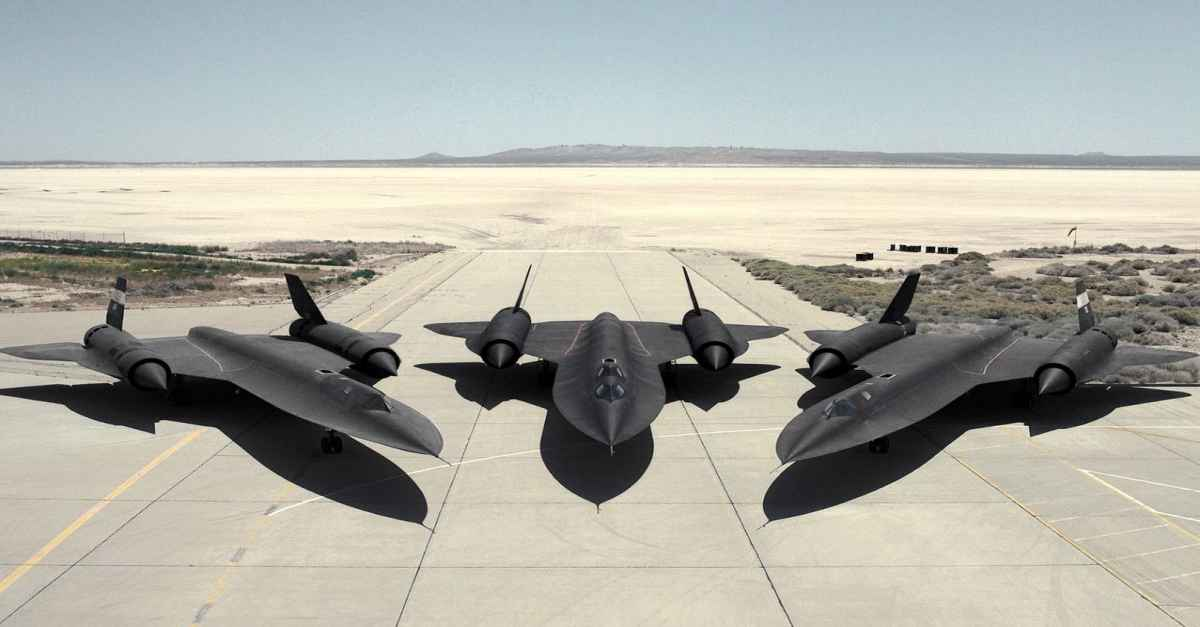 SR-71 Blackbirds fastest jets
