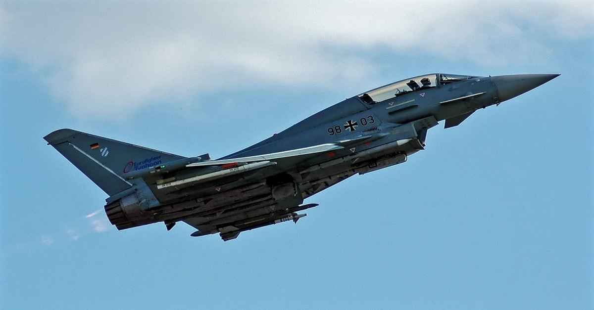 Eurofighter Typhoon coolest military aircraft