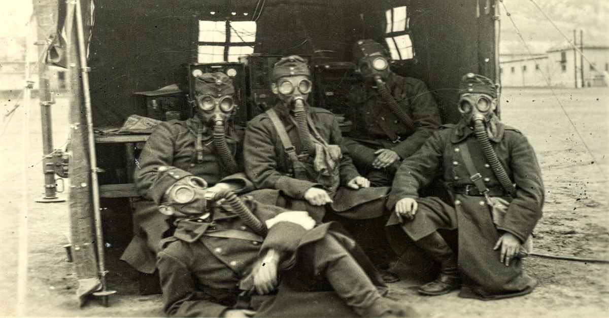 military gas masks