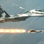 Russian Su-27 Firing Missile