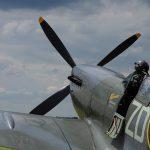 Supermarine Spitfire from behind