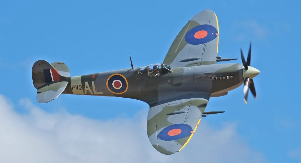 Supermarine Spitfire in flight