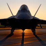 F-22 Raptor Sunset