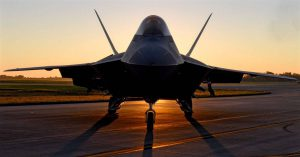 F-22 Raptor Sunset