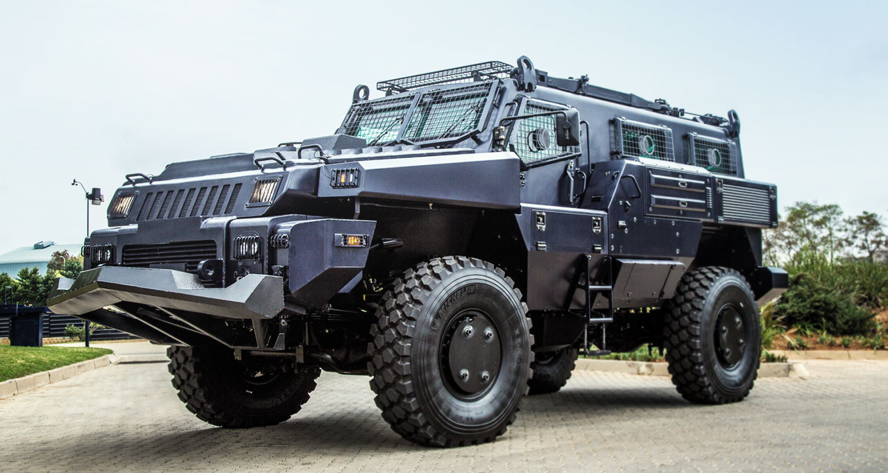 Marauder Military Vehicle | Military Machine