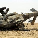 Damaged Ah-64 Apache