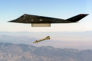 F-117 Dropping Payload