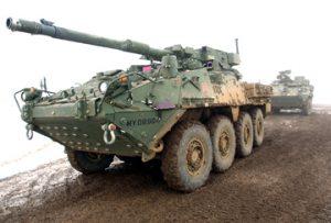 stryker land vehicle