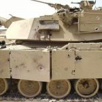M1 Abrams IED Damage