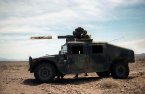 US Army HMMWV Firing