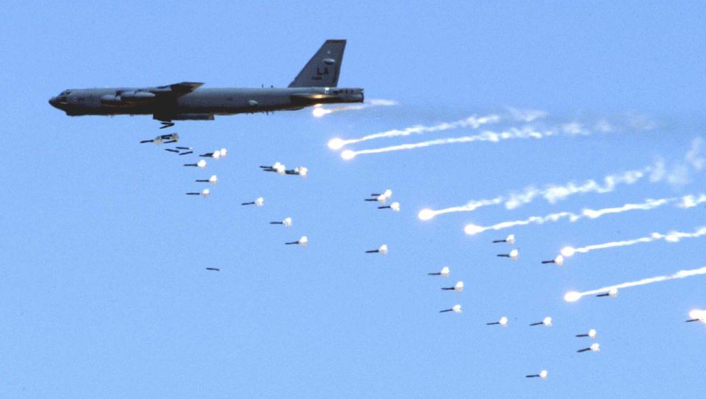 B-52a Bombing