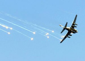 EA-6B Prowler Flares