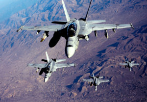 F/A-18E/F super hornet military aircraft