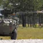Stryker firing TOW missile