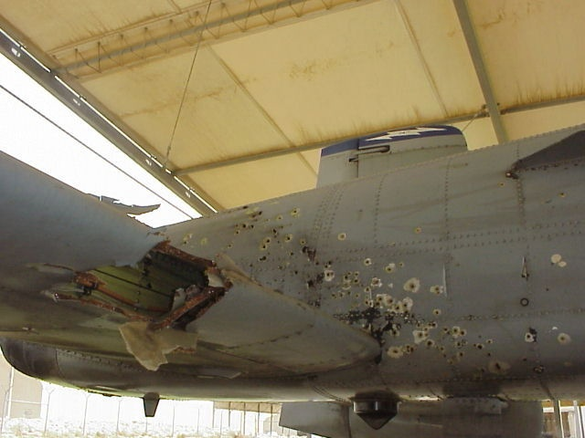 A-10 Warthog Bullet Holes