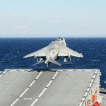 Av-8B Harrier Take Off Carrier