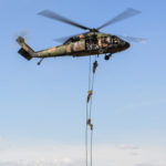 UH-60 Fast Rope Exercise