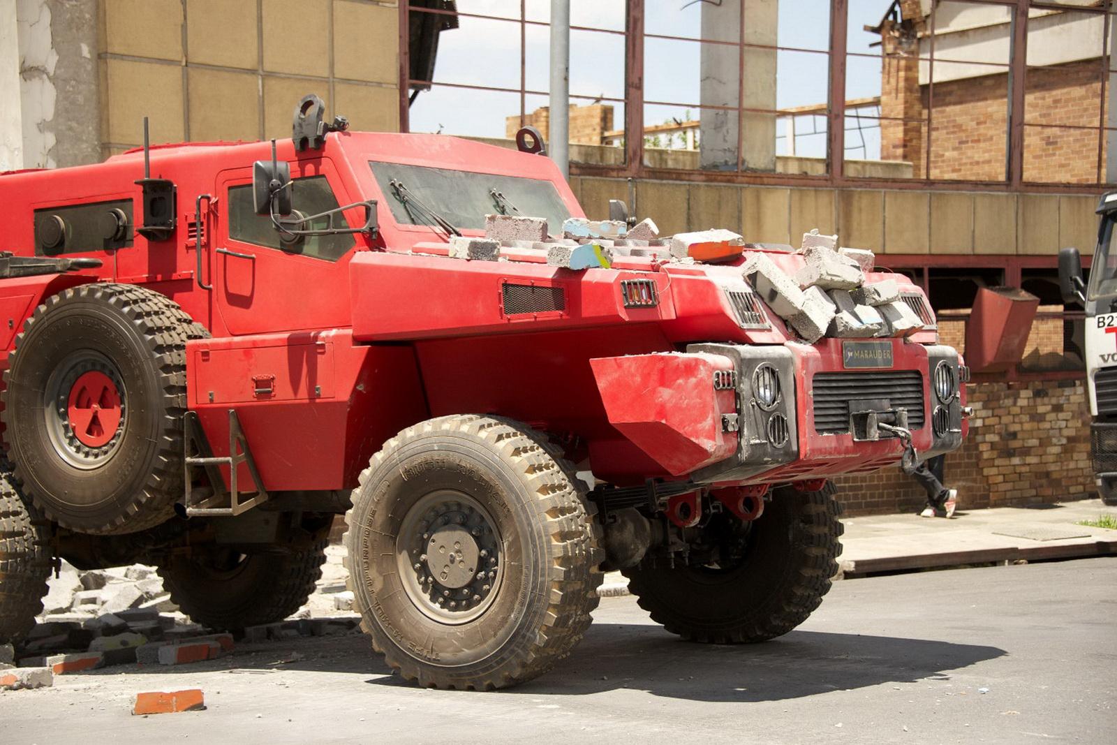 military marauder military machine