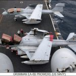 EA-6B Prowlers Aircraft Carrier
