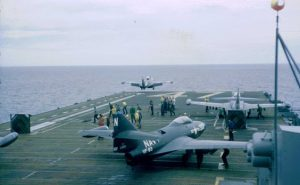 F9F Panther Aircraft Carrier