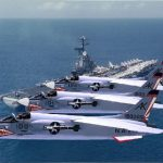 F8 Crusaders in Formation