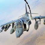 AV-8B Harrier Refuels