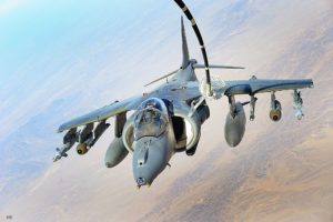 AV-8B Harrier Refuels