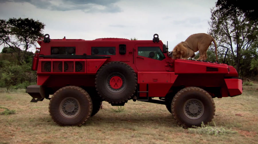 1969 Chevy Truck For Sale >> South Africa's Paramount Marauder Armored Vehicle| Military Machine