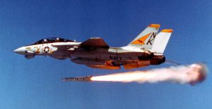 F-14 Firing Missile